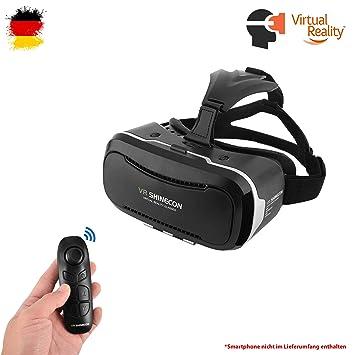 162da19f59a Himoto HSP Universal VR 3D Virtual Reality Brille und Bluetooth-Controller für  Smartphones mit Einer