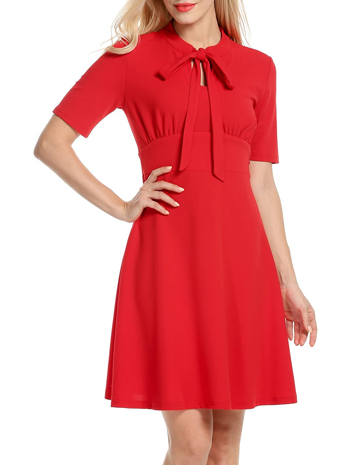 ANGVNS Women's Vintage Style Retro 1940s Mother Of The Bride Dresses *AMH005464
