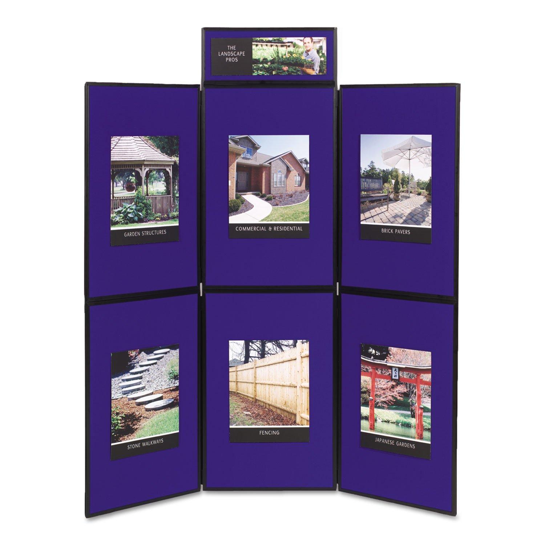 Quartet Showit 6-Panel Display System QRTSB93516Q by Quartet