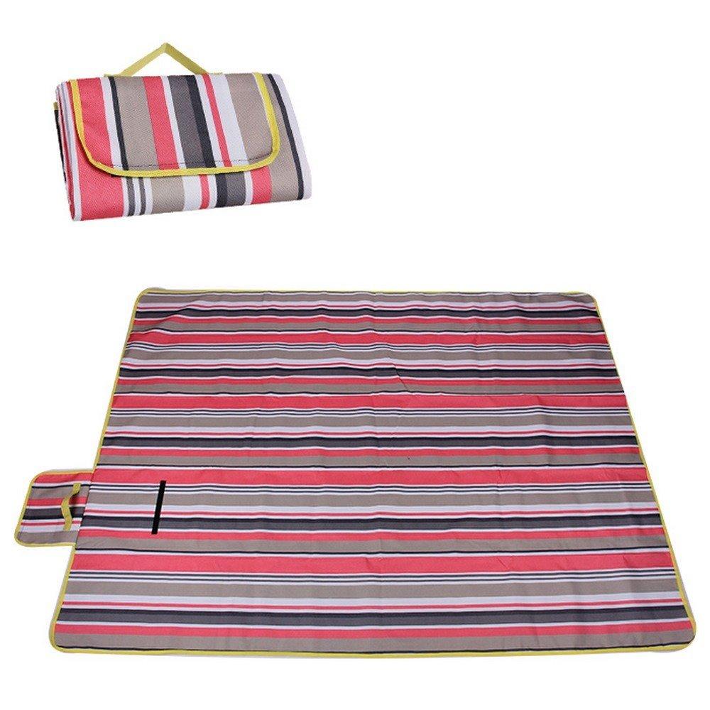 DOGYEARDAJI Outdoor Picnic Mat Moisture Proof Pad Portable Foldable Beach Mat