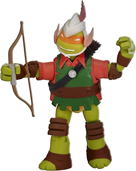 Teenage Mutant Ninja Turtles Michelangelo Elf Live Action Role Play Figure
