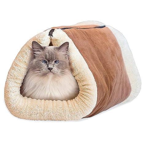 2 en 1 gato Cesta Dormir funda gato cueva de dormir Cama para perros Perros cama
