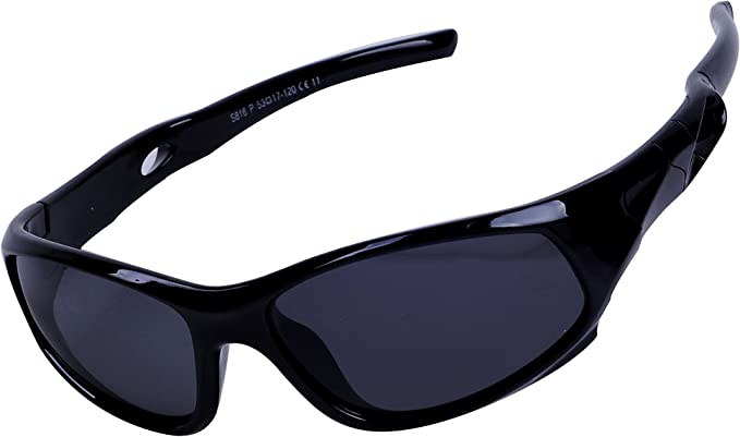 Case Kids Sunglasses Sport Polarized UV Protection Glasses Strap for Boys Girls 3-12 years