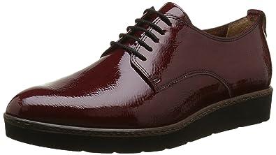 Tamaris 23312, Zapatos de Cordones Oxford para Mujer, Rojo (Bordeaux 549), 37 EU