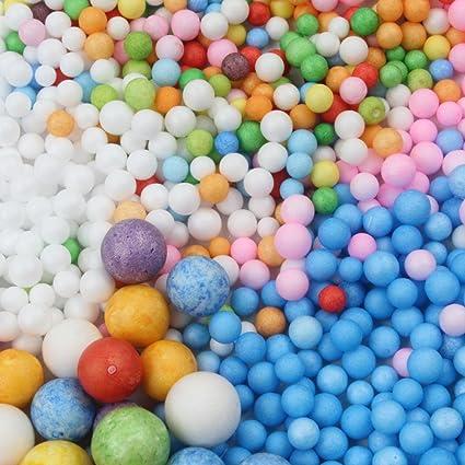 ltui colorido perlas de rodajas de frutas Fish Tank Pecera para crujientes Slime, plástico hermoso color ...