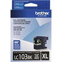 Brother Genuine LC103BK High Yield XL Black Ink Cartridge