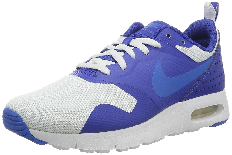 814443 102 Boys' Nike Air Max Tavas (GS) Shoe!! WHITEPHOTO BLUEGAME ROYAL!!