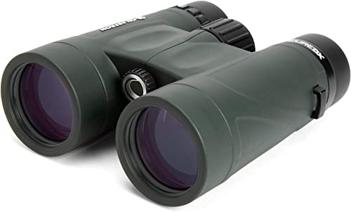 Celestron 71328 Nature DX Binocular Army Green Certified Refurbished