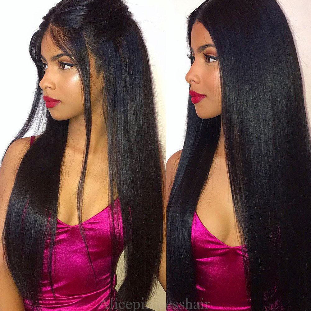 Aliceprincess High Ponytail Full Lace Wigs