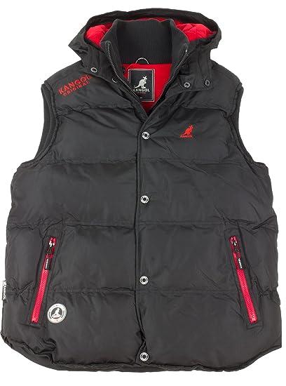 Kangol K601229C Gilet Black S  Amazon.co.uk  Clothing ce79fa68fe0