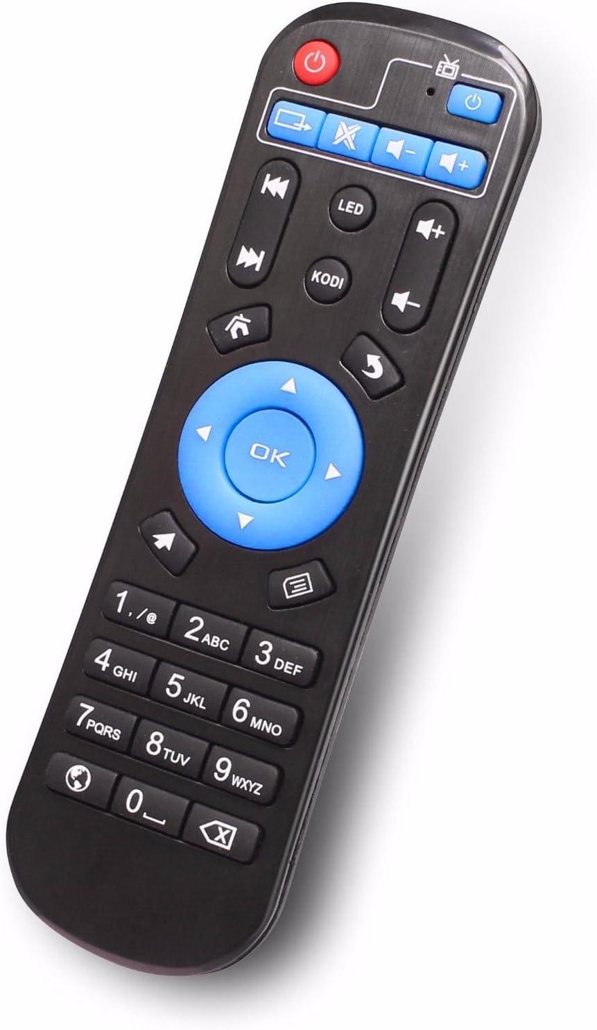 anewish repuesto original de control remoto para Android Smart TV Box Kodi/IPTV Set Top Box: Amazon.es: Electrónica