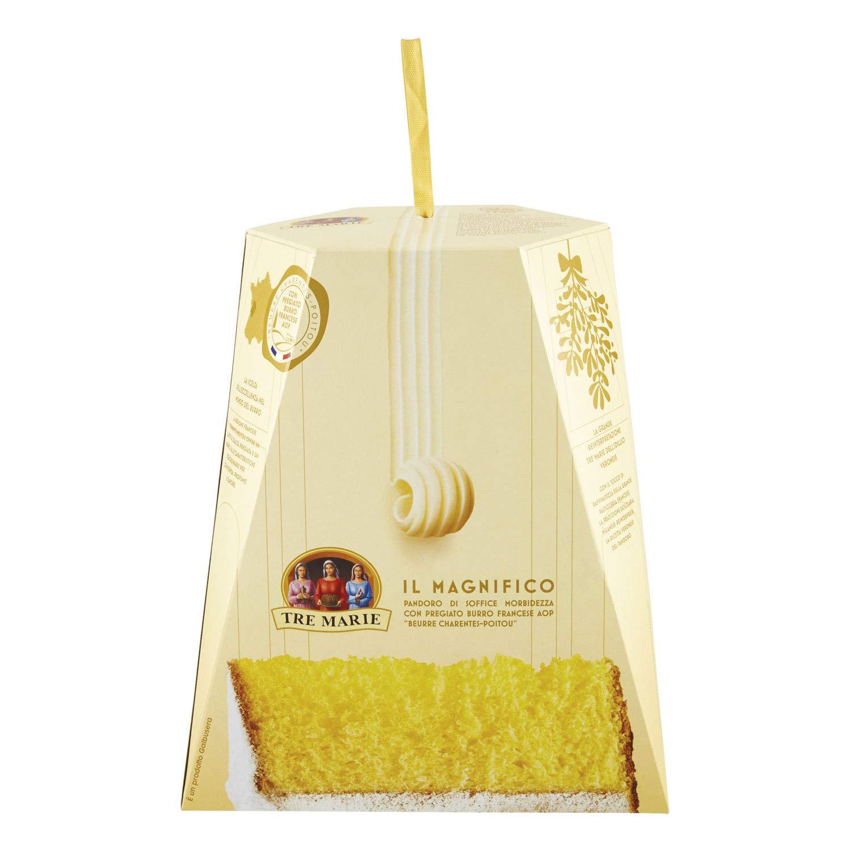 Tre Marie Il Pandoro Panettone 1 kg (2 lb 3.3 oz) Traditional Italian Christmas Cake