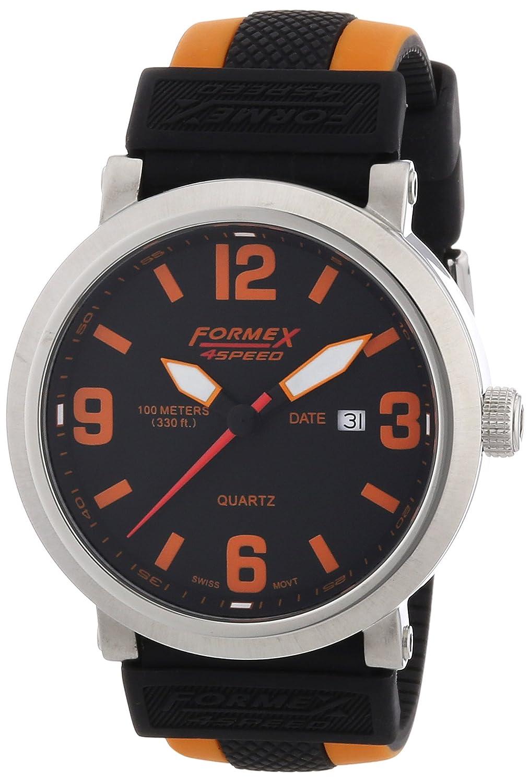 Formex 4 Speed Herren-Armbanduhr XL TS725 Analog Quarz Silikon 72512.1020