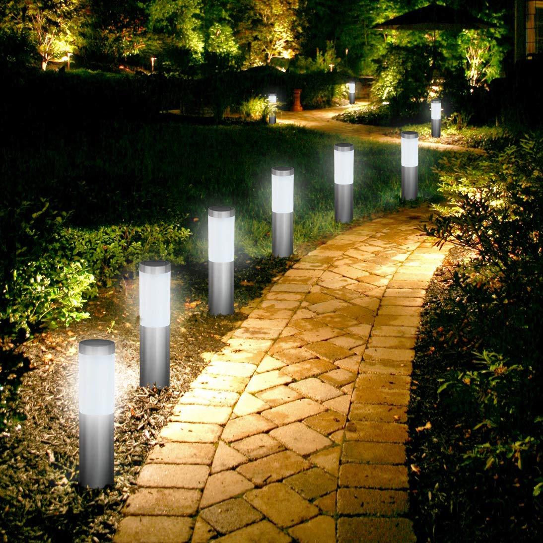 Poste de Luz Solar Oscar (Paquete de 4), Luces Solares, Iluminación para Patio, Caminos, Césped y Paisaje de SPV Lights: Los Especialistas en Luces e ...