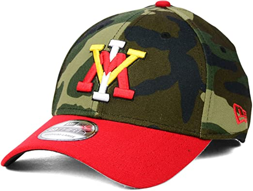 0a749354040 Virginia Military Institute VMI Keydets Camo New Era 3930 Stretch Hat Cap  (Woodland Camo-