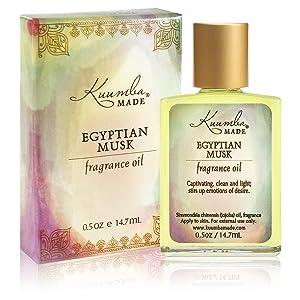 Kuumba Made Egyptian Musk Fragrance Oil 0.5 Ounces (1-Unit)