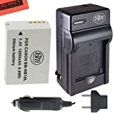 Battery & Charger Kit Canon PowerShot SX40 SX50 HS G15 G1 X Digital Camera Includes NB-10L Battery + AC/DC Battery Charger + More!!