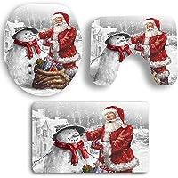 BONNIO 3 Piezas de Navidad Santa Claus