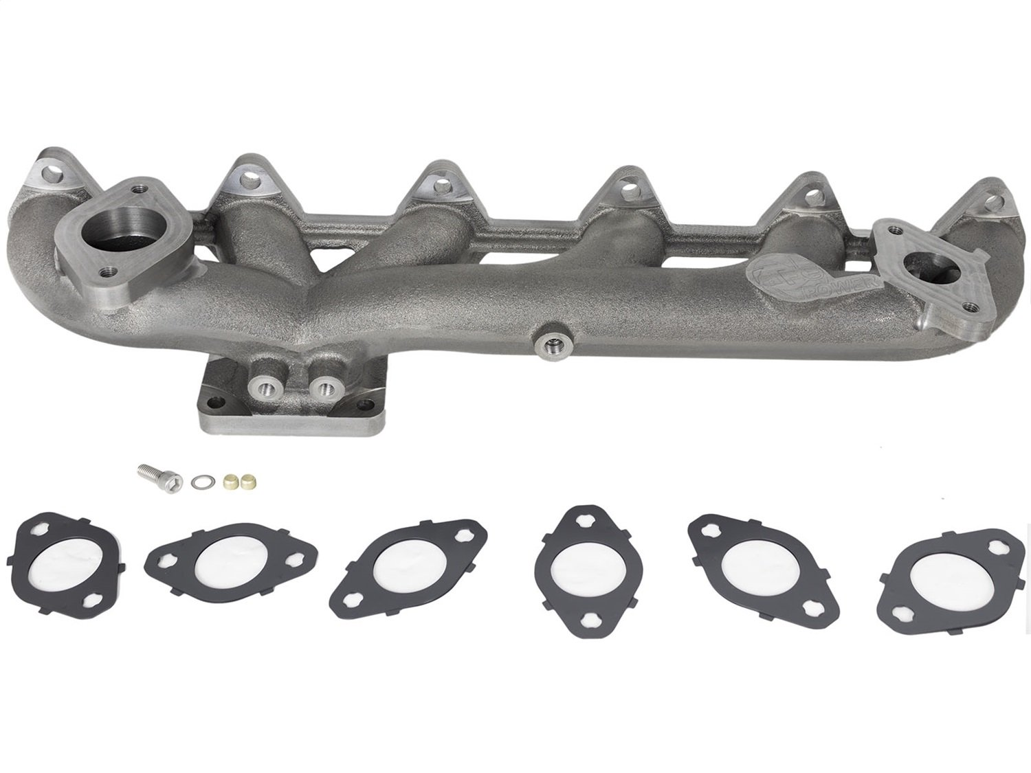 aFe Power 46-40054 BladeRunner Ported Ductile Iron Exhaust Manifold with EGR (Non-CARB Compliant)