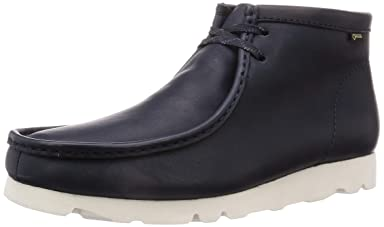Wallabee Boot GTX: Ink Leather