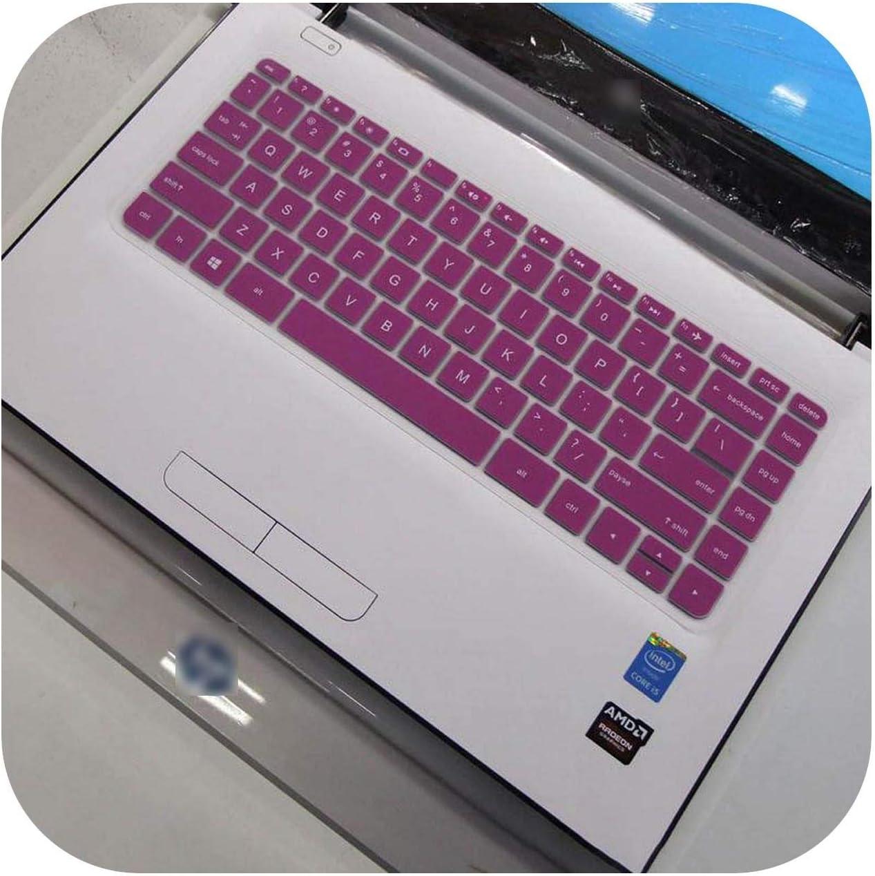 for HP Spectre x360-4113TU 4114 Pro x360 G2 M4Z17PA 13 inch Laptop Keyboard Silicone Keyboard Skin Cover-Purple-