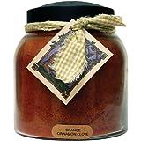 A Cheerful Giver Orange Cinnamon Clove Papa Jar Candle, 34-Ounce