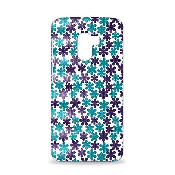 ezyprnt lenovo k4 note mobile back case cover with six petal flower