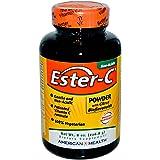 American Health Ester C Powder with Citrus Bioflavonoids, 8 Ounce