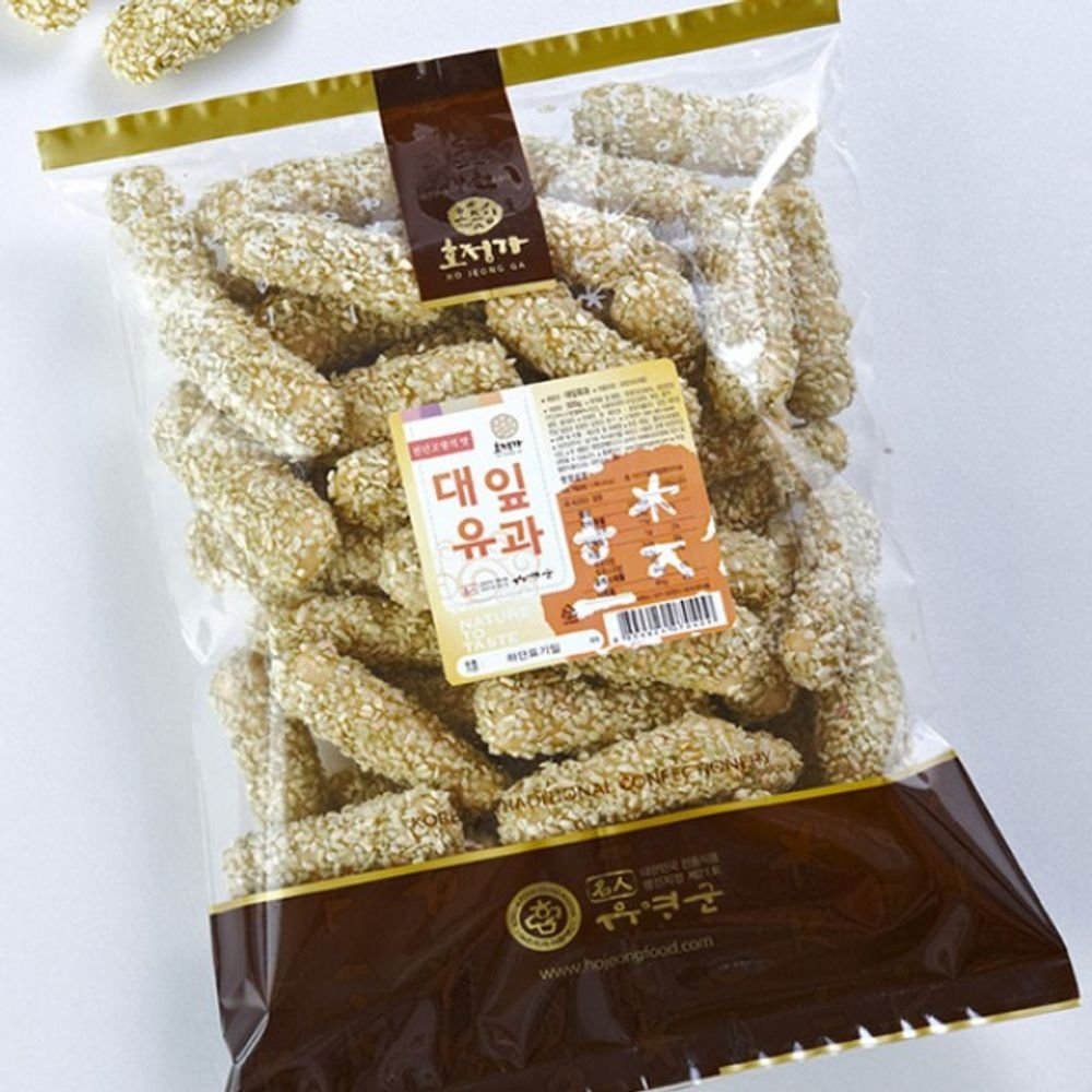 Changpyeong Bamboo Leaf Crunch with Grain Syrup 500G by Changpyeong