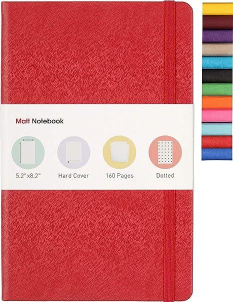 Amazon.com: Cuaderno mate | Cuaderno clásico para escribir ...