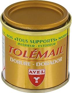 Peinture Dorée Funéraire Redorer Lettre Pierre Tombale Amazonfr