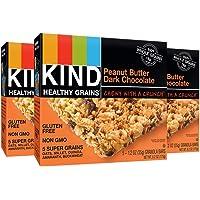 KIND Healthy Grains Bars - Peanut Butter Dark Chocolate - 1.2 oz - 5 ct - 3 pk