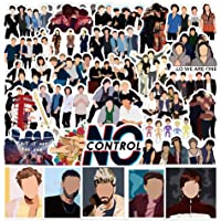 One Direction Singer Stickers for Hydro Flask|50pcs|, Waterproof Music Decal for Teen Laptop, Water Bottle, Bike, Guitar…