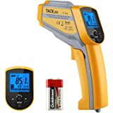 Tacklife Temperature Gun, IT-T05 Non-contact Dual Laser Thermometer -58°F~ 1022°F (-50°C~550°C) Digital Infrared Thermometer with Adjustable Emissivity & Max Measure for Cooking & Brewing