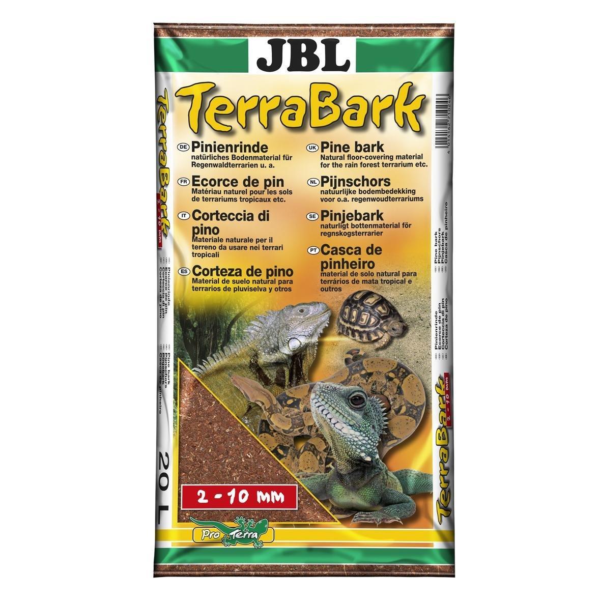 JBL Sustrato de suelo para terrarios de bosque y selva tropical, corteza de pino, TerraBark 7102000