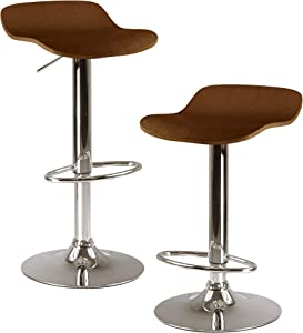 Winsome Wood Kallie Stool, Cappuccino