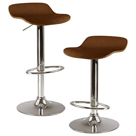 Winsome Wood 93489 Kallie Stool, Cappuccino