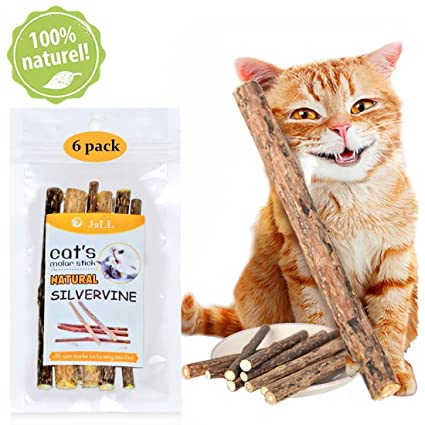 amazon com love66 catnip sticks 6 pcs matatabi cat stick catnip