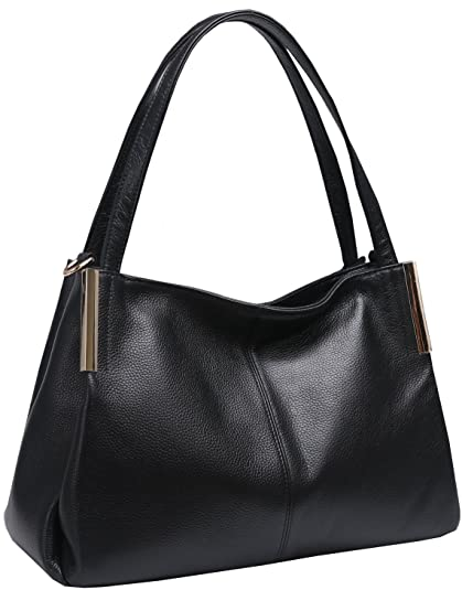 3d5e987fdab Amazon.com: Heshe Women's Leather Handbags Top Handle Totes Bags ...