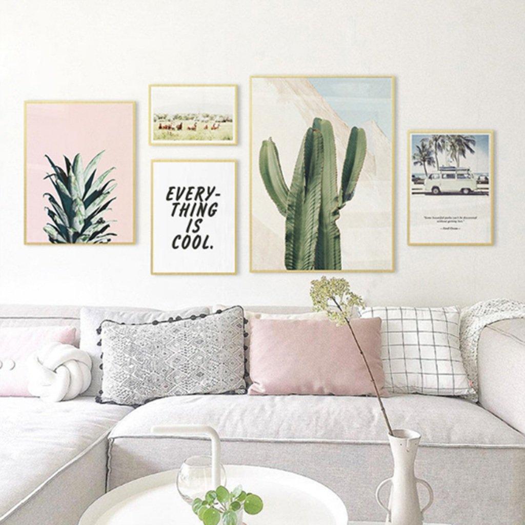 FJXLZ® Photo Wall, sofa background living room decoration ...