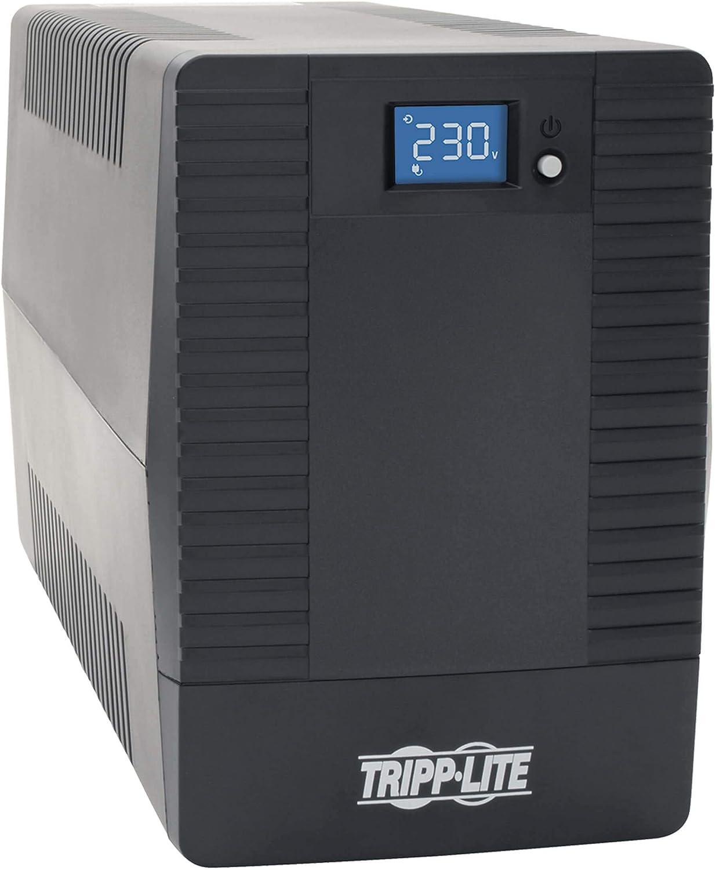 1 Minute Stand-by 230 V AC Input Tower 220 V AC 4 X Schuko CEE 7 8 Hour Recharge 230 V AC Tripp Lite OMNIVSX1500D 1.5kVA Tower UPS Avr 240 V AC Output