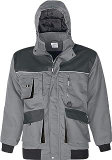 Triuso Jacke Basic Arbeitsbundjacke Jacke Arbeitsjacke grau Gr XS-5XL