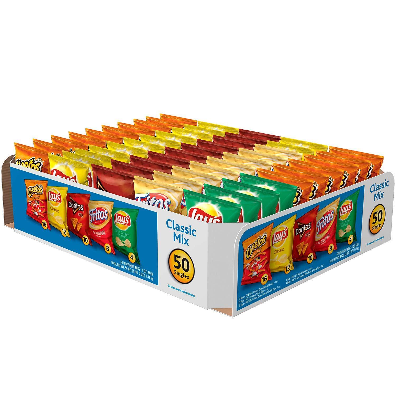 Frito Lay Count Variety Pack - 50/ 1 oz.