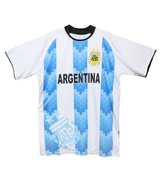 5b590ac29f4 Trendy Apparel Shop Argentina National Team Home Logo Football Soccer Jersey  - White