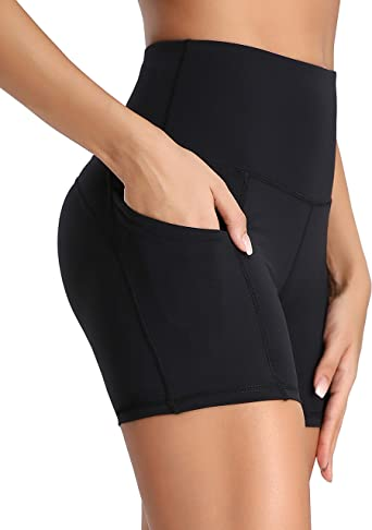 Running Gym Casual Active Wear KORALHY Women/'s Workout Shorts with Pockets