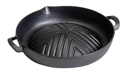 Victor 35,3 cm Hierro Fundido Barbacoa Coreana Pan