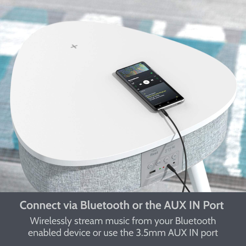 Tragbarer Beistelltisch Bluetooth Lautsprecher Mit Elektronik