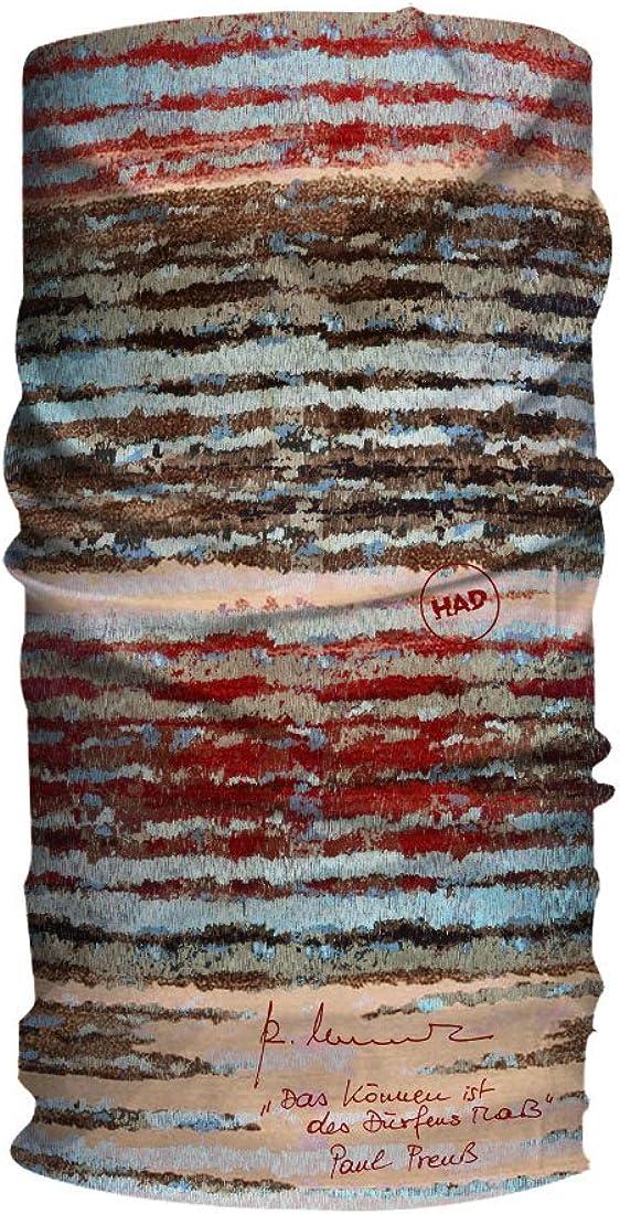 Had Mens Printed Fleece Tube Scarf