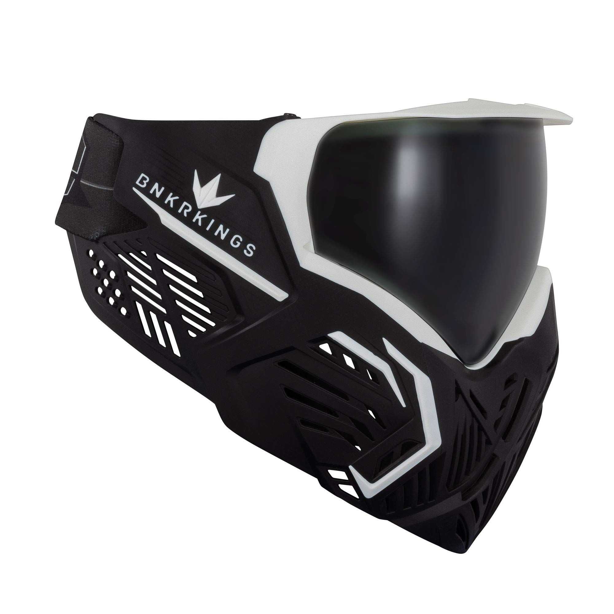 Bunker Kings CMD Paintball Goggle/Mask - Black Storm by Bnkr Kings