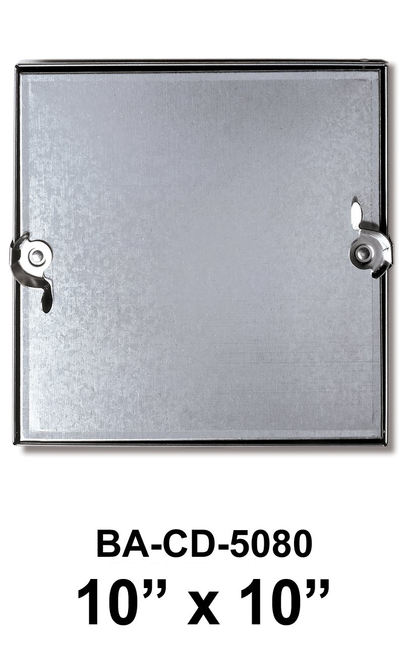 10'' x 10'' Double Cam Removeable Duct Access Door